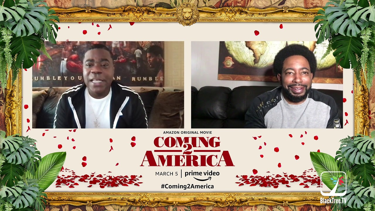 "Tracy Morgan ""Funny is Funny"" Coming 2 America Interview, he drops lineup 4 the new kings of comedy"