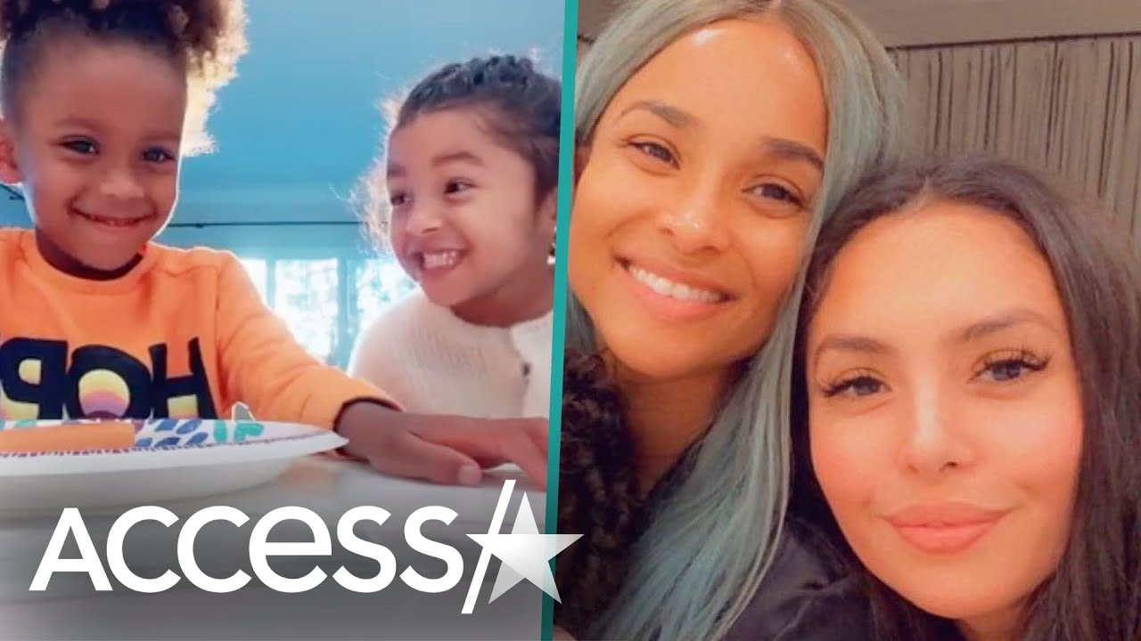 Vanessa Bryant & Ciara's Daughters Dance & Giggle In TikTok Video