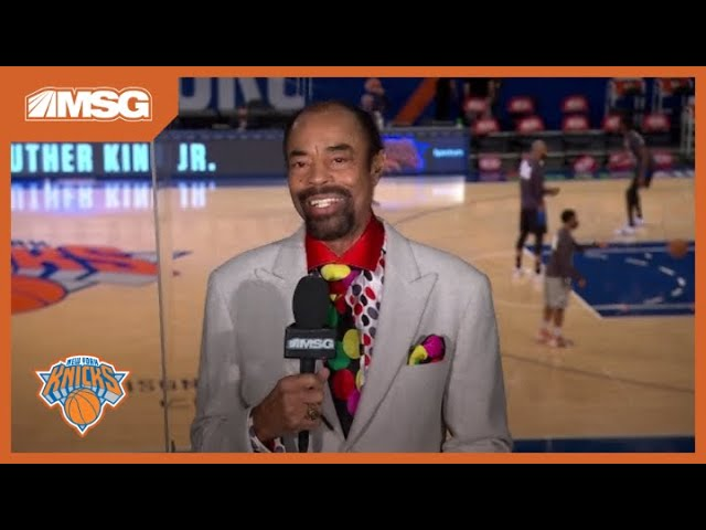 Walt Clyde Frazier Shares How Dr. Martin Luther King Jr. Impacted His Life | New York Knicks