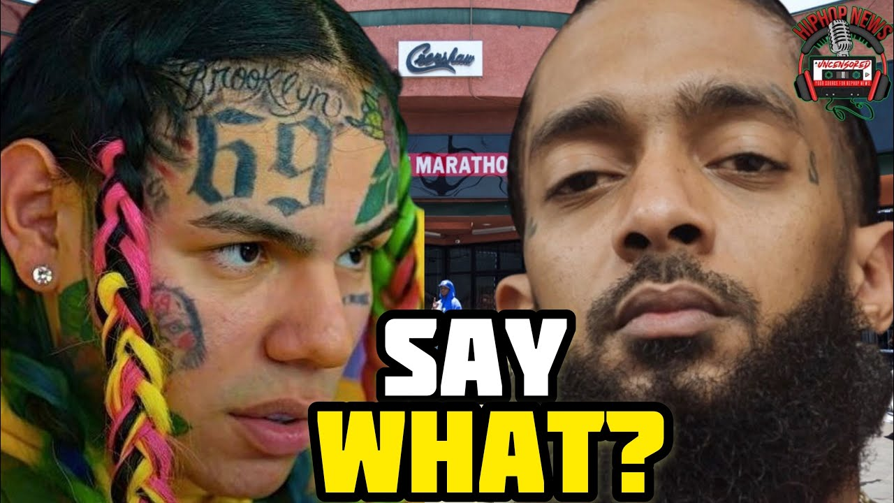 6ix9ine Goes Way Too Far Disrespecting Nipsey Hussle's Grave!