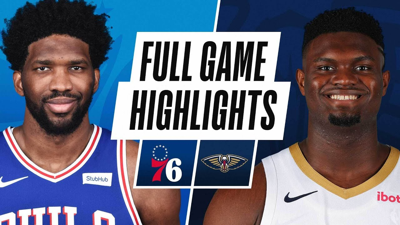 76ERS at PELICANS | FULL GAME HIGHLIGHTS | April 9, 2021