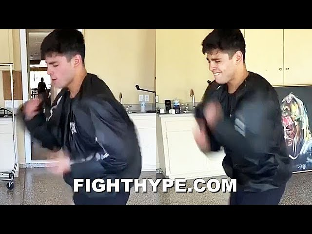"80 PUNCHES IN 10 SECONDS | RYAN GARCIA ""EVEN FASTER"" SPEED CHALLENGE; HANDS FLYING IN A BLUR"