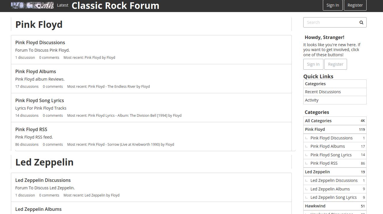 The Rock Forum