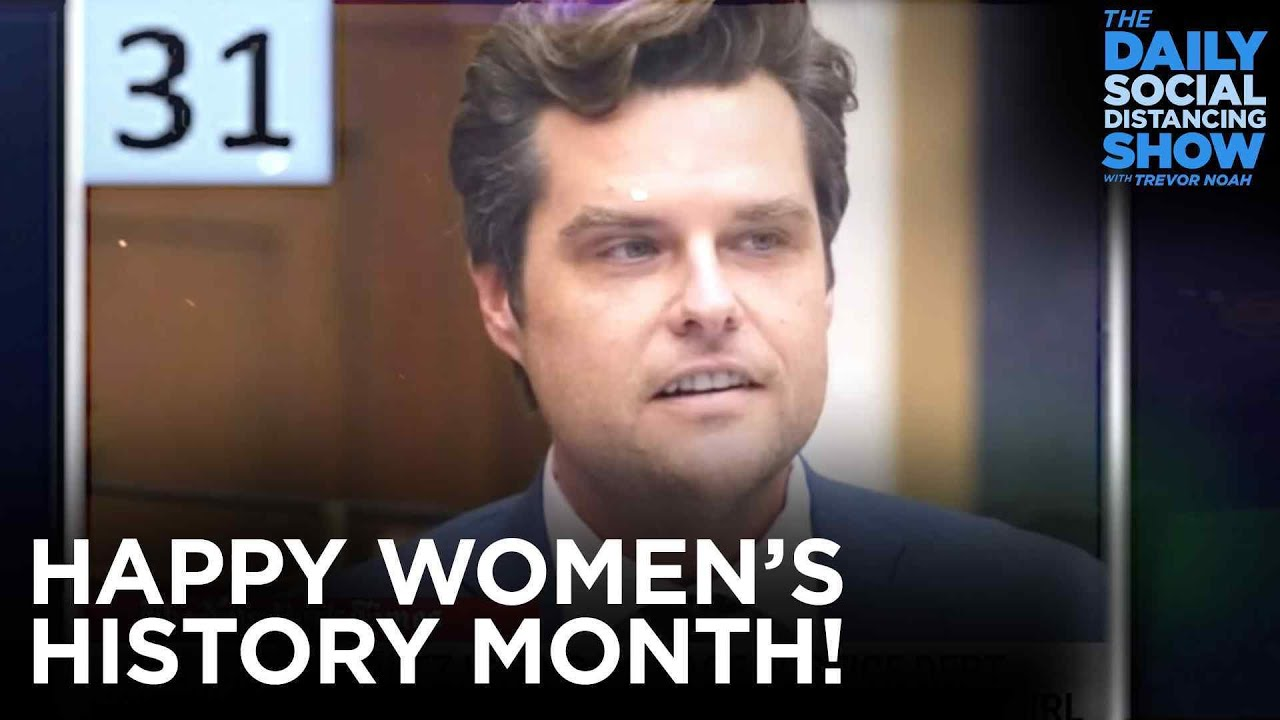 An Amazing Month for Women | The Daily Show
