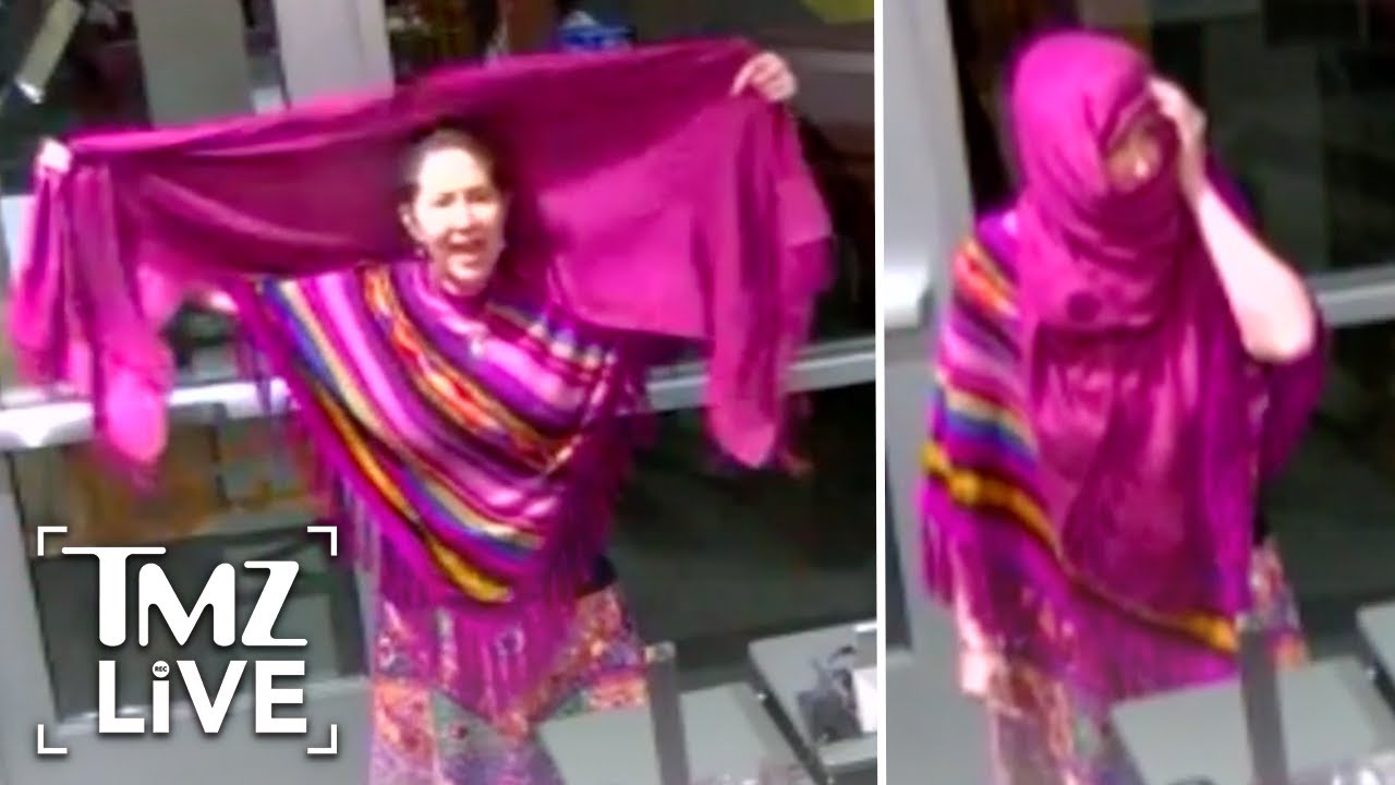 Anti-Masker Fakes Being Muslim | TMZ Live