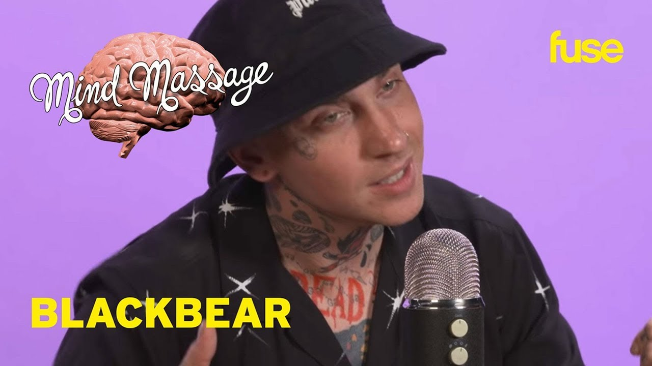 blackbear Does ASMR with Candy & Paint, Talks PINK ROLEX & Relationship Advice   Mind Massage   Fuse