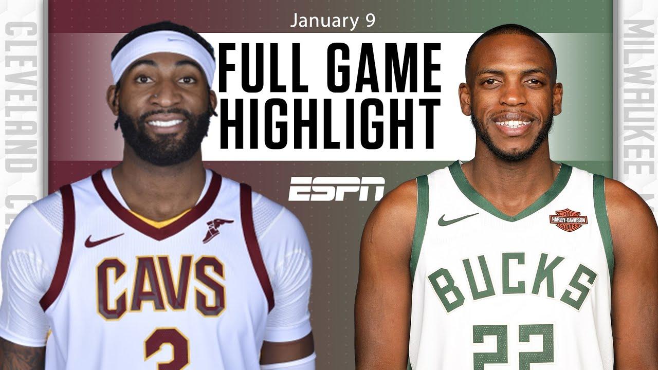 Cleveland Cavaliers vs. Milwaukee Bucks [FULL GAME HIGHLIGHTS] | NBA on ESPN