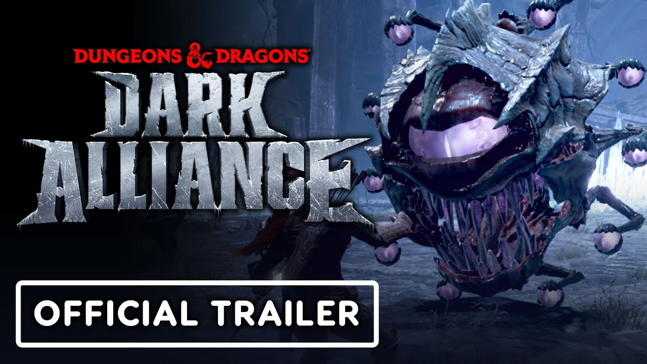D&D: Dark Alliance – Official Beholder Boss Battle Gameplay Trailer