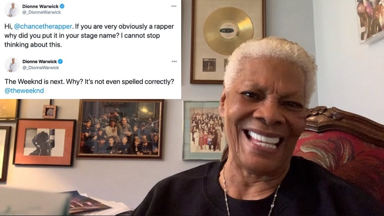 """Dionne Warwick on being crowned the """"Queen of Twitter"""""""
