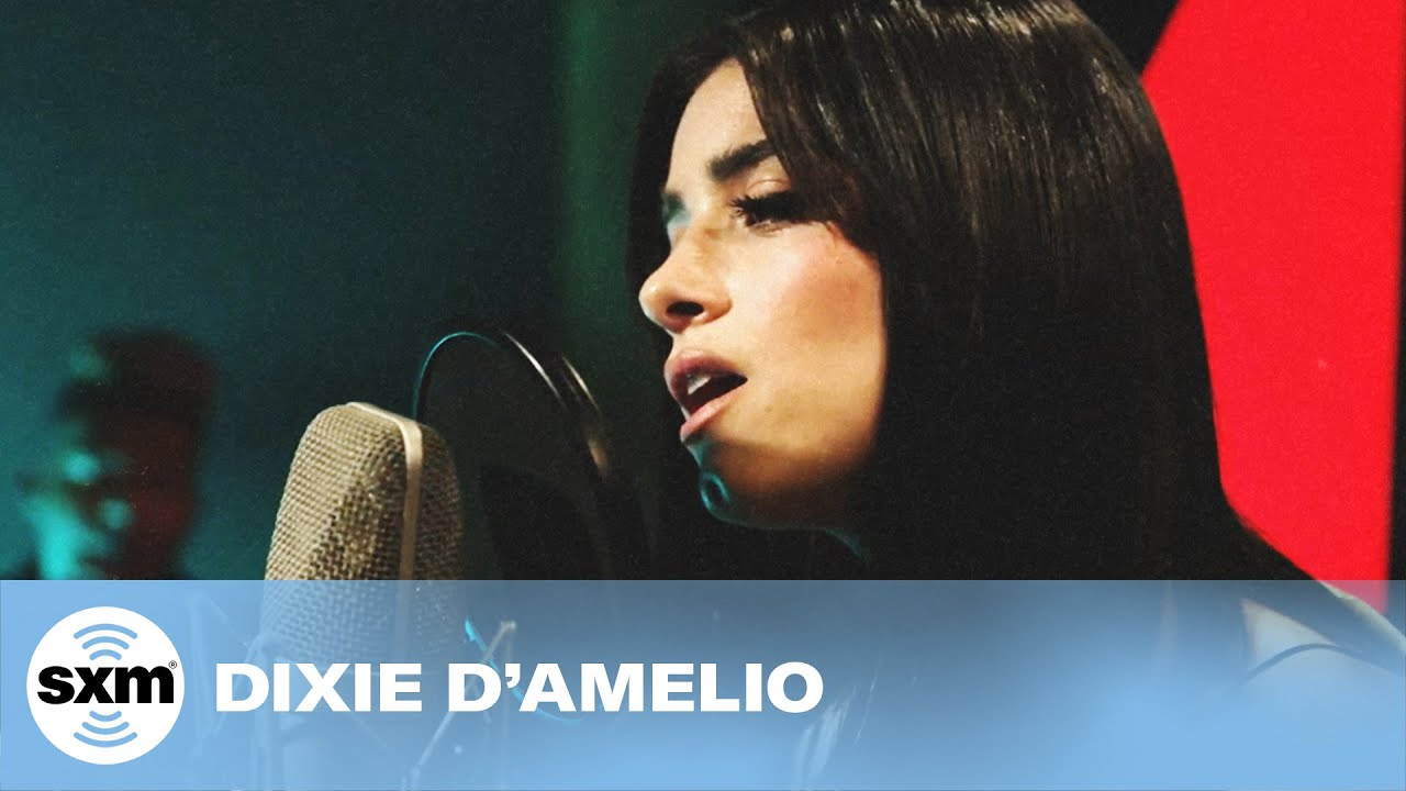 Dixie D'Amelio – Be Happy [LIVE for SiriusXM] | Hits1 HITBOUND Performance Series