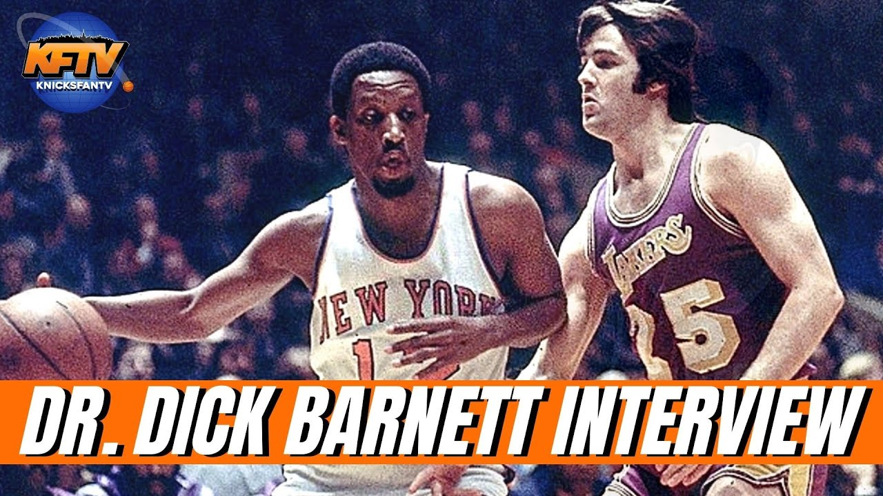 Dr. Dick Barnett Talks 1970s Knicks Championship & The Dream Paradigm