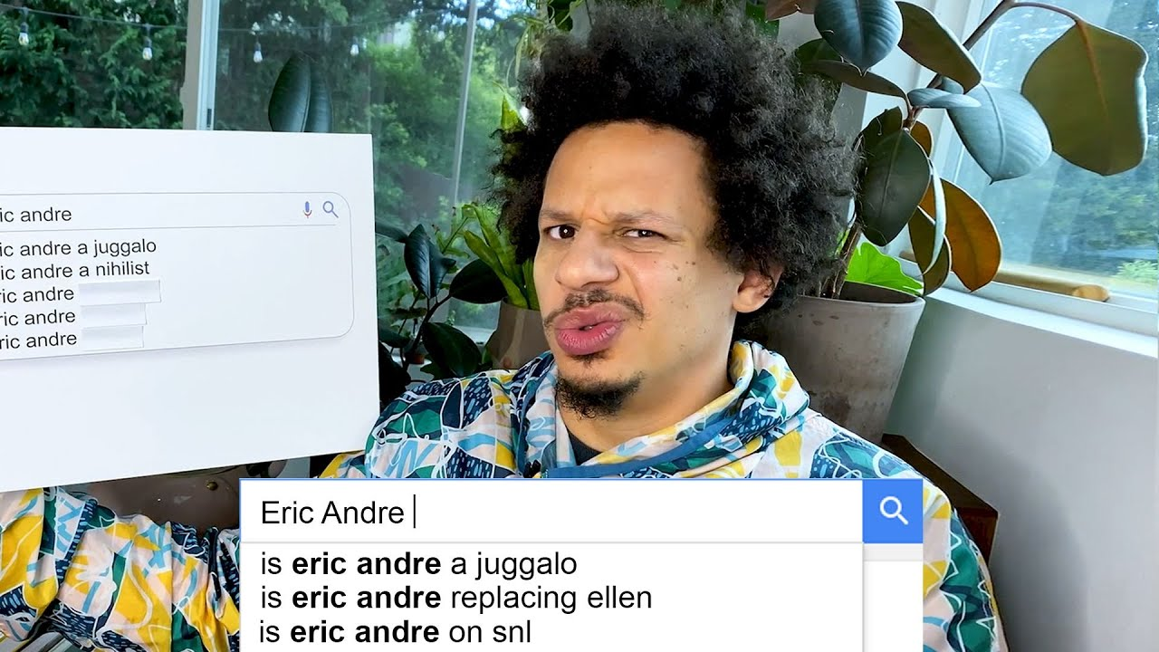 Eric Andre Answers the Web's Most Searched Questions…Again | WIRED