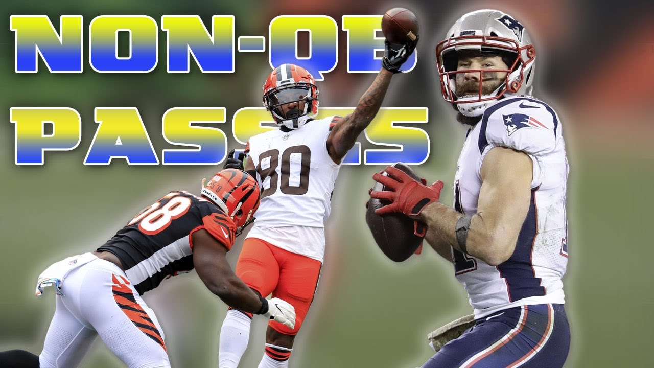 EVERY Non-QB Pass Attempt from the 2020 NFL Season
