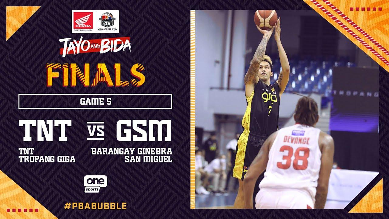 Full Game 5: TNT vs Ginebra   PBA Philippine Cup 2020 Finals