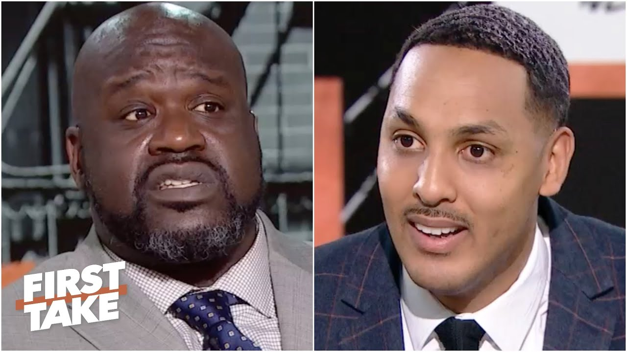 [FULL] Shaq and Ryan Hollins debate: Will LeBron James be on the Lakers' Mt. Rushmore? | First Take
