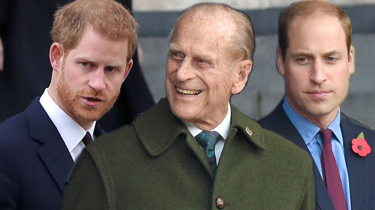 How Prince William and Prince Harry Will Be Positioned at Prince Philip's Funeral
