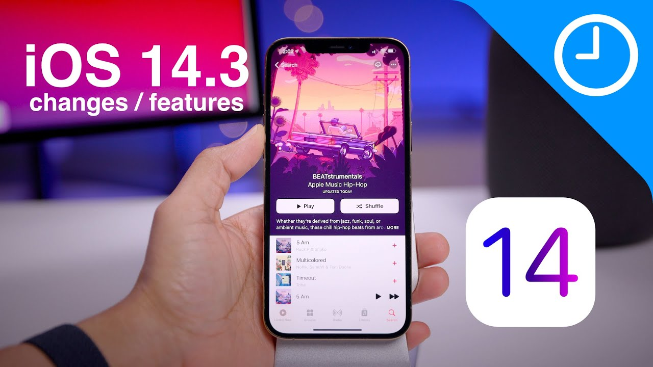 iOS 14.3 features / changes! What's new?