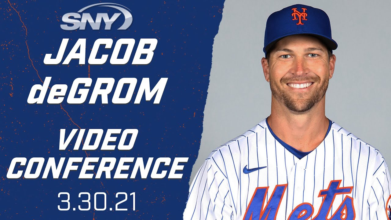 Jacob deGrom looks ahead to Opening Day, competing for a 3rd Cy Young | New York Mets | SNY