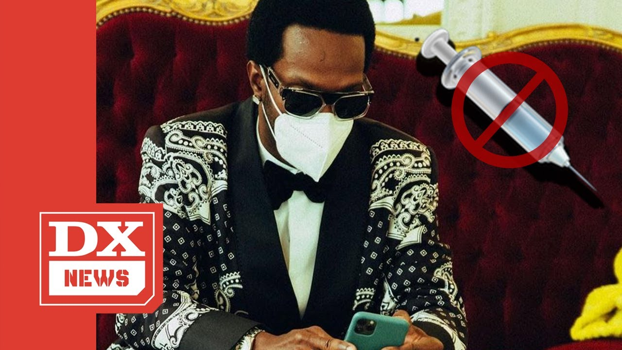 """Juicy J Gets Roasted On Twitter For Being Mr. """"Sippin On Some Syrup"""" But Anti COVID 19 Vaccine"""