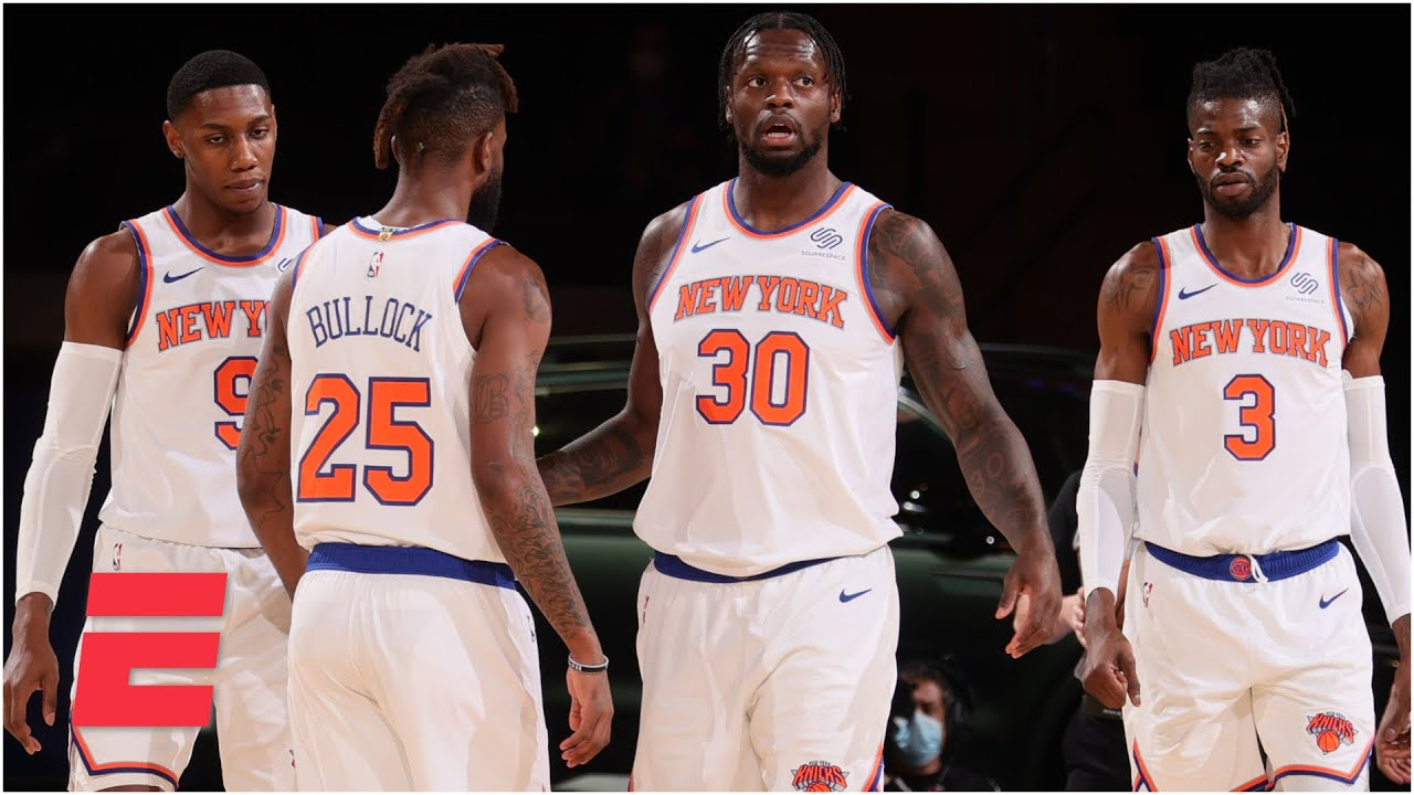 Julius Randle is keeping the Knicks in the Eastern Conference playoff picture | SportsNation