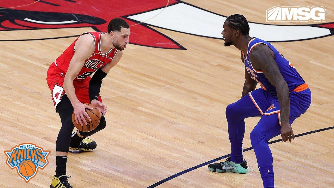 Julius Randle vs Zach LaVine, Battle of the NBA All-Stars   Knicks in Six