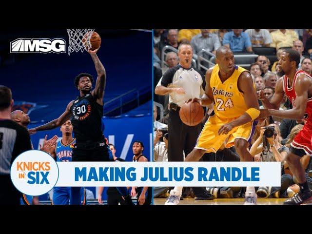 Julius Randle: Work Ethic Like Kobe, Numbers like Larry Bird
