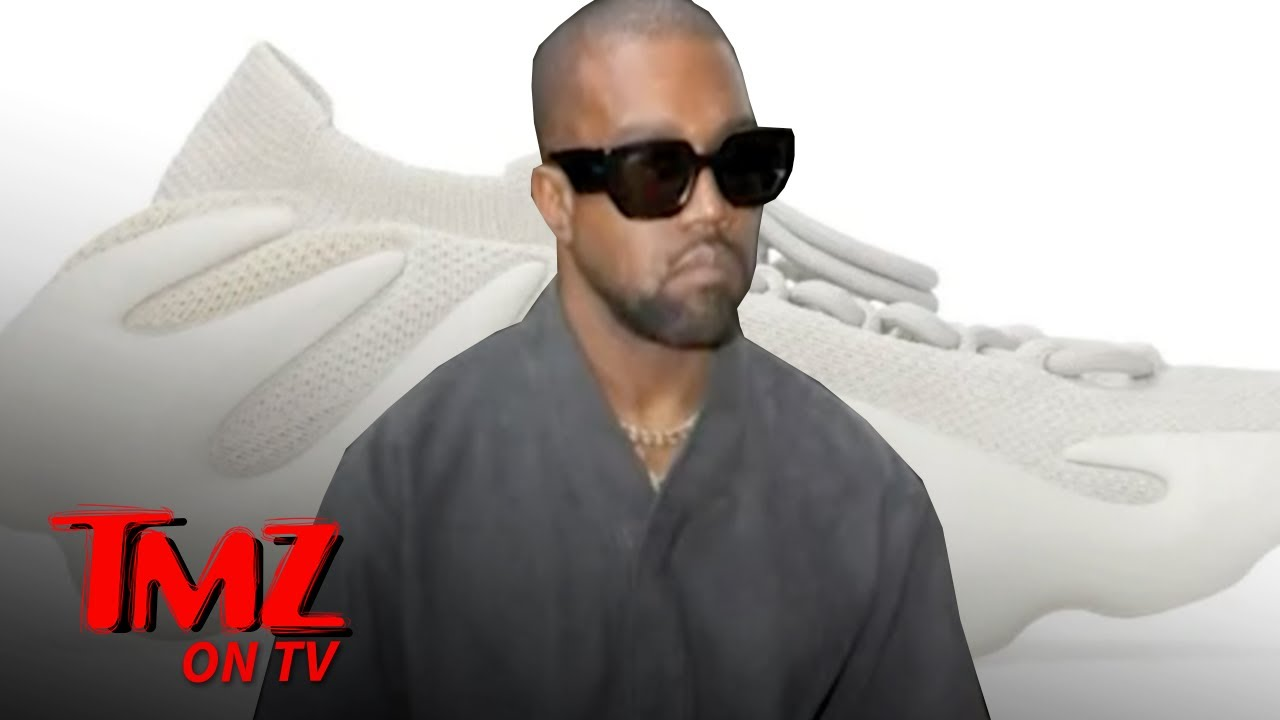 Kanye's Yeezy 450 In Cloud White Shoes Sell Out in Under a Minute | TMZ TV