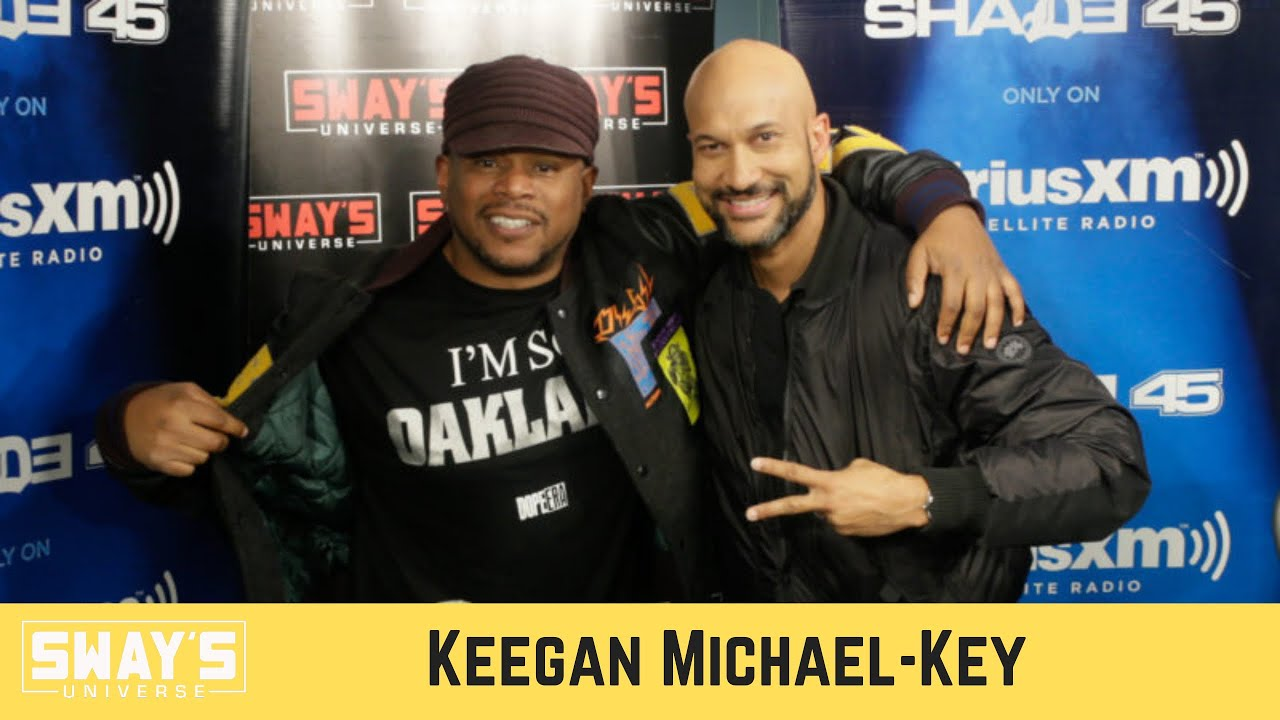 Keegan-Michael Talks 'History of Sketch Comedy' Podcast on Audible Plus   SWAY'S UNIVERSE