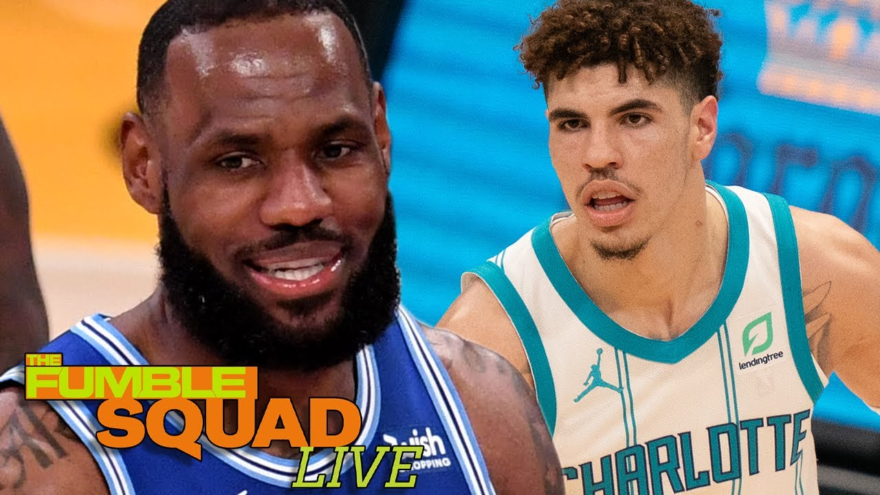"""LaMelo Ball Shades LeBron James: Says He's """"Not Really"""" Excited To Face Him For The First Time"""