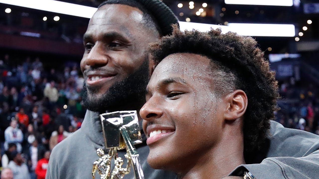 LeBron James Admits One Of His Main Goals Is To Play On A Team With Bronny
