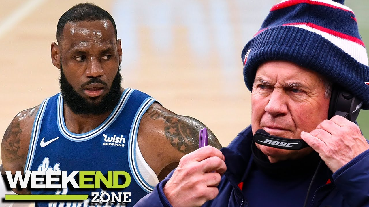 LeBron James Calls Out Bill Belichick, Sad Bears Fan Wakes Up Asking About Russell Wilson   WZ