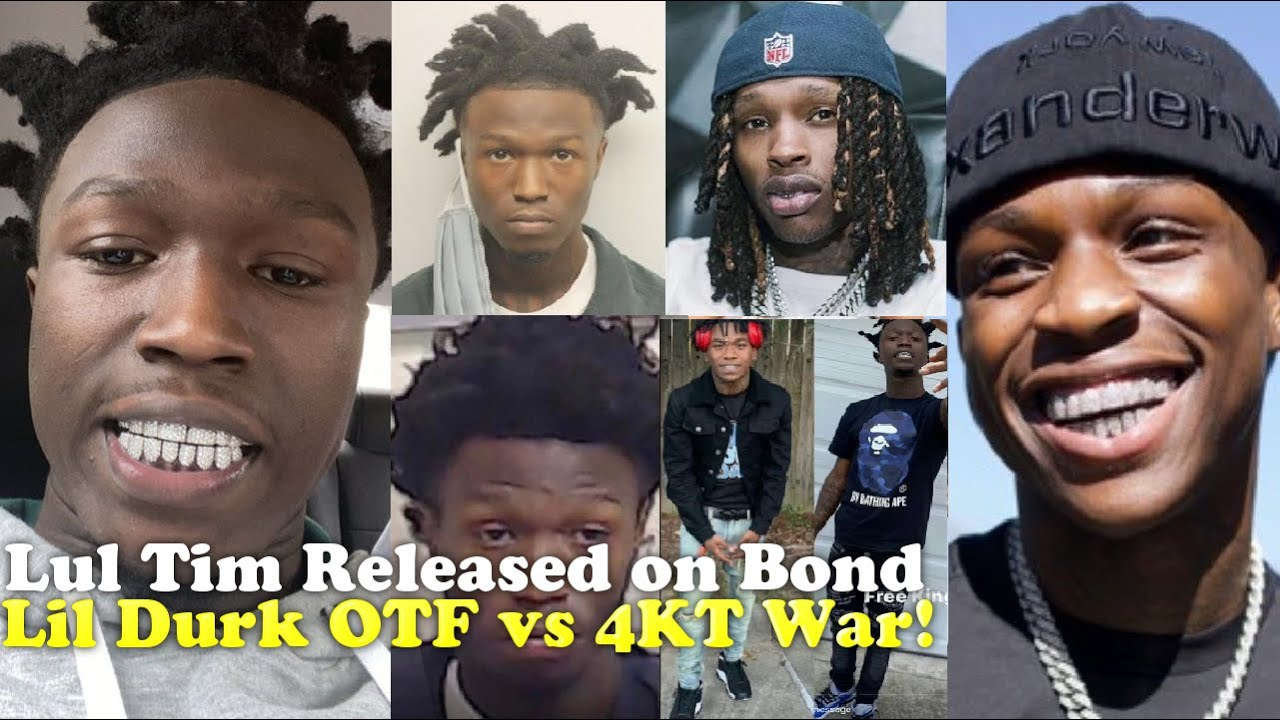 Lul Tim King Von K!ller is Free!?! Quando Rondo, NBA YoungBoy Lil Durk | 4KT vs OTF