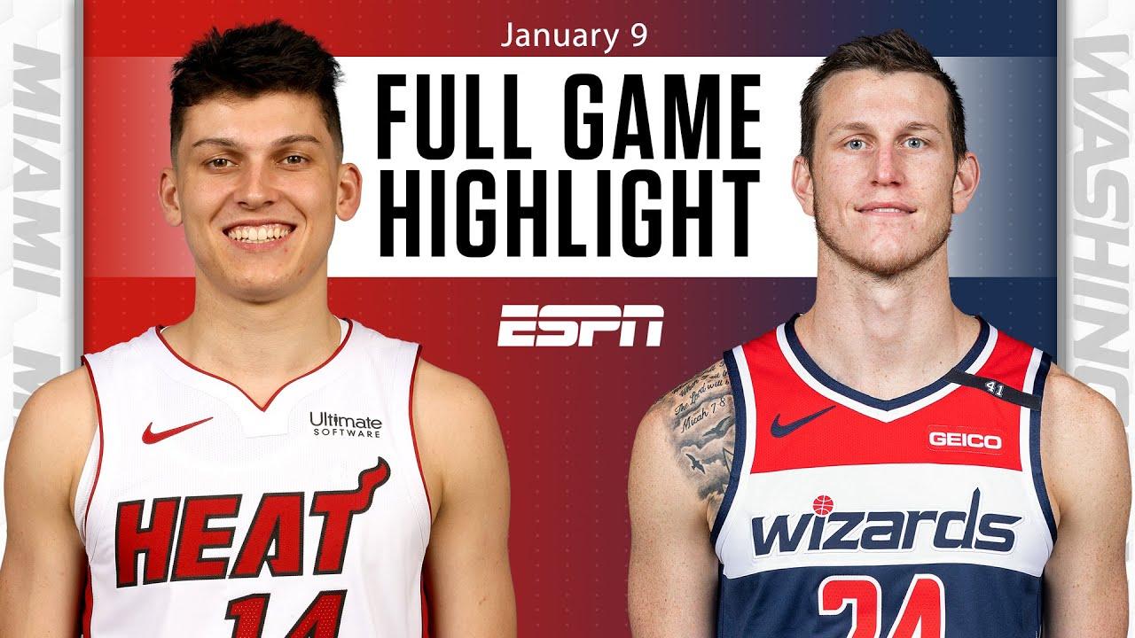 Miami Heat vs. Washington Wizards [FULL GAME HIGHLIGHTS]   NBA on ESPN
