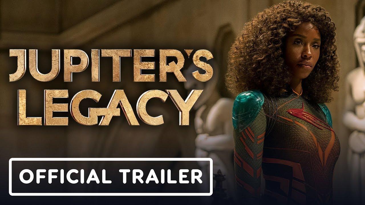 Netflix's Jupiter's Legacy – Official Trailer (2021) Josh Duhamel, Leslie Bibb