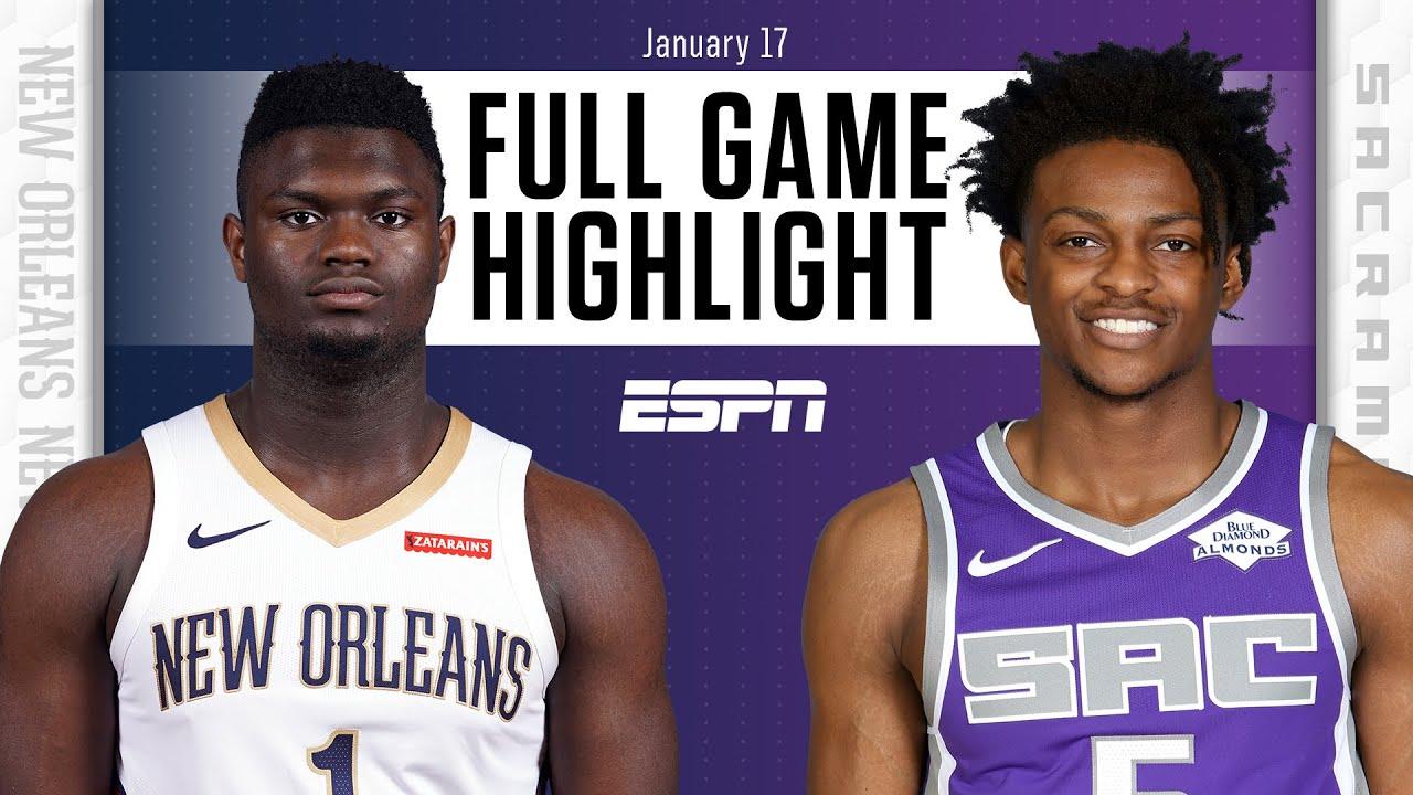 New Orleans Pelicans vs. Sacramento Kings [FULL GAME HIGHLIGHTS] | NBA on ESPN