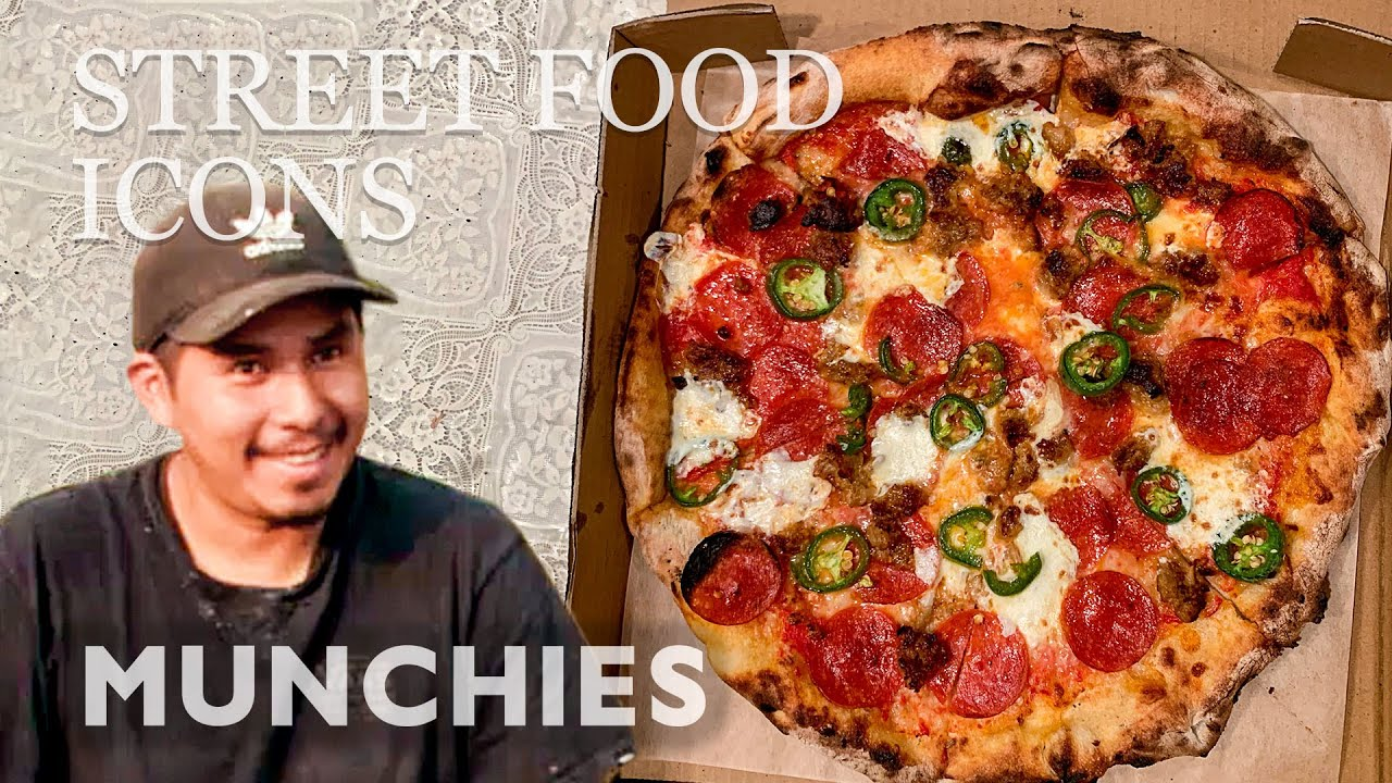 Pizza From A Pickup Truck — Street Food Icons