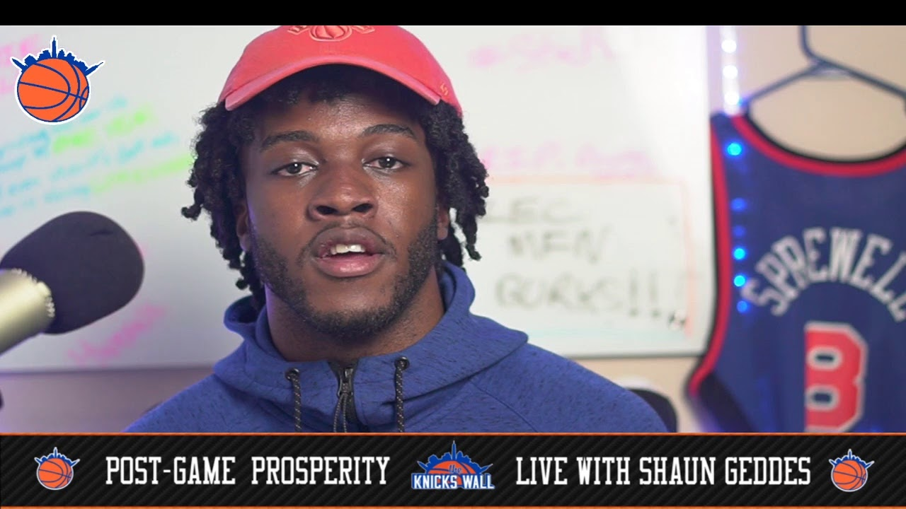 Postgame PROSPERITY with @iHateShaun (Knicks CLIP Pelicans 116-106) FOUR STRAIGHT!!!