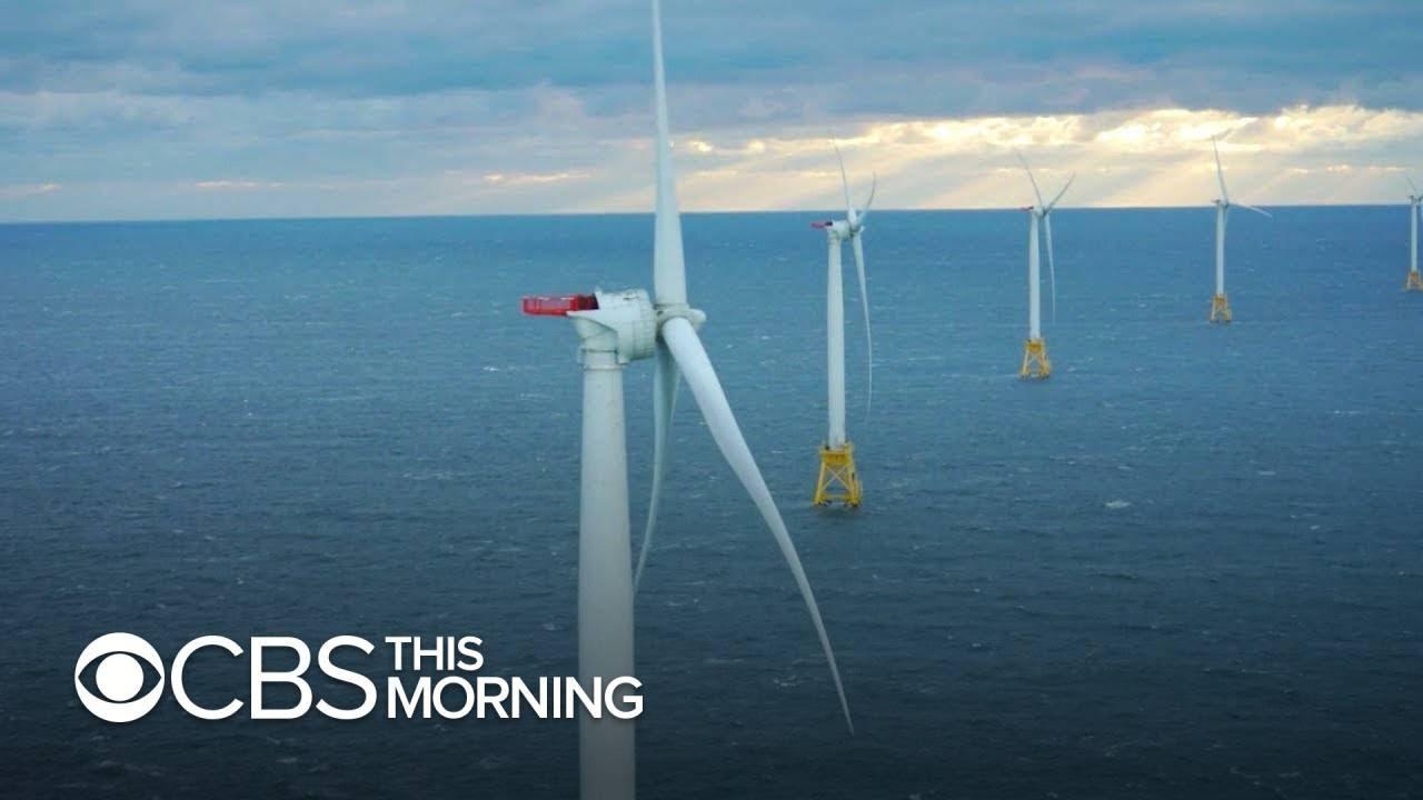 President Biden pushes offshore wind as green energy alternative
