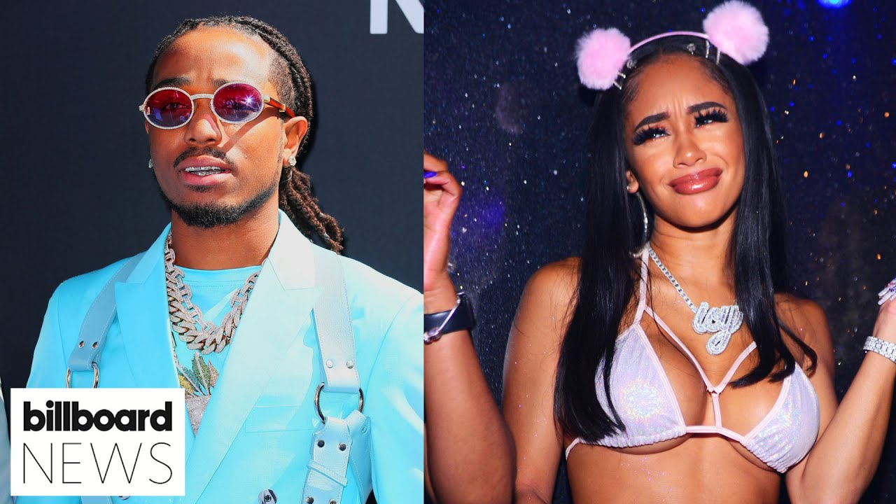 Quavo Responds To Saweetie's Cheating Allegations | Billboard News