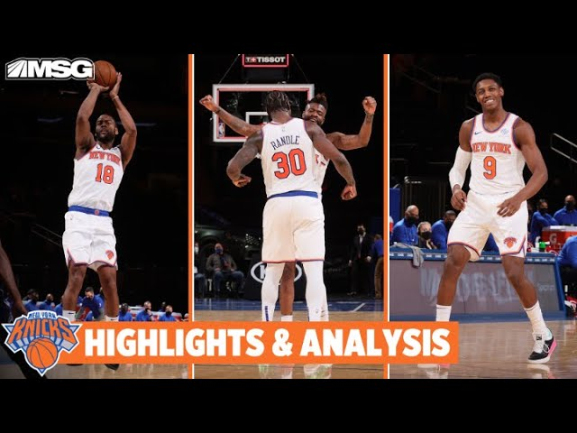 Randle Posts 17 Assist Triple-Double & Bullock Steals the Win vs Magic   New York Knicks