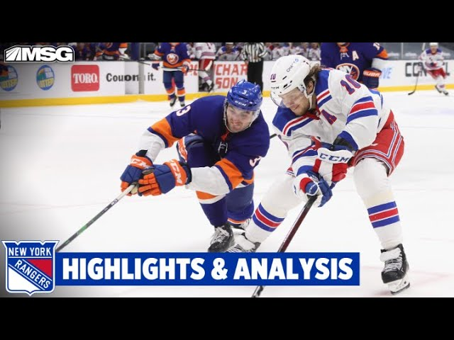 Rangers Get 1 Point But Fall in Overtime To Division Leading Islanders   New York Rangers
