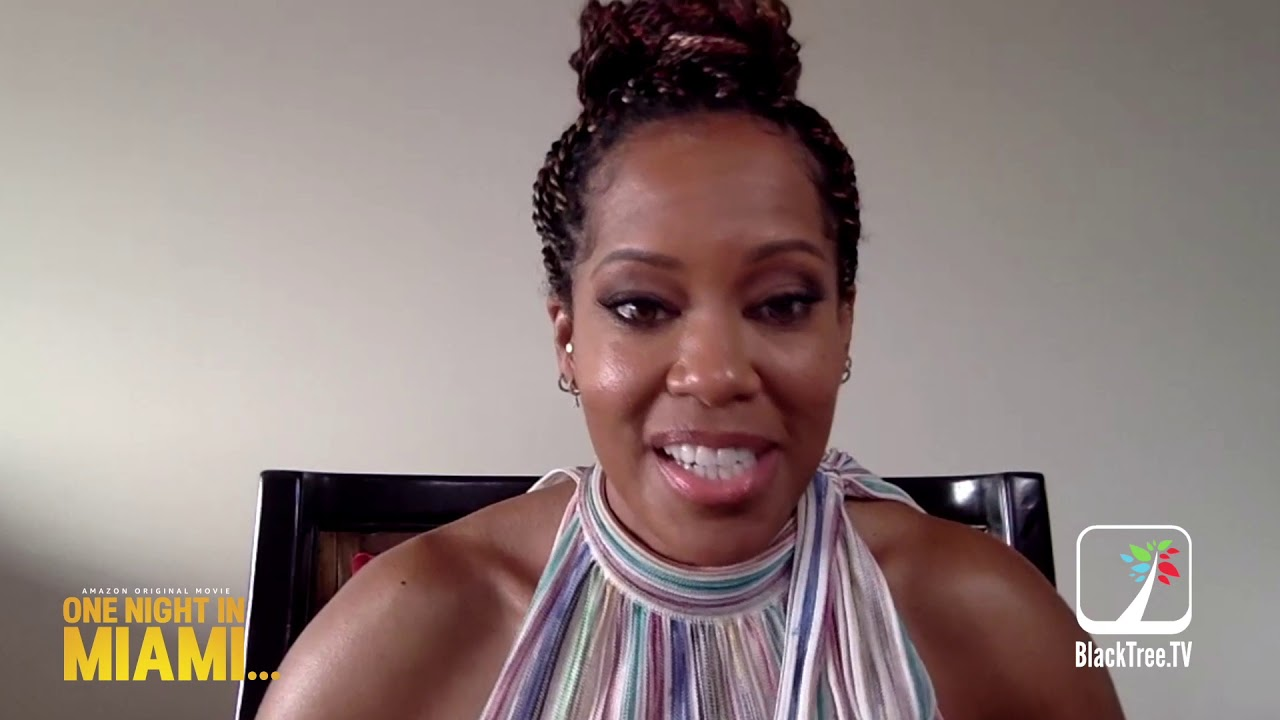 Regina King discusses her feature Directorial Debut in One Night in Miami on BlackTree TV