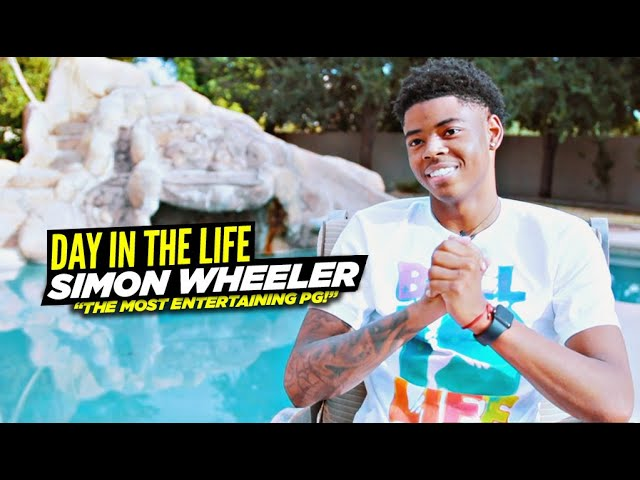 Simon Wheeler Is The Most ENTERTAINING PG On & Off The Court! Day In The Life