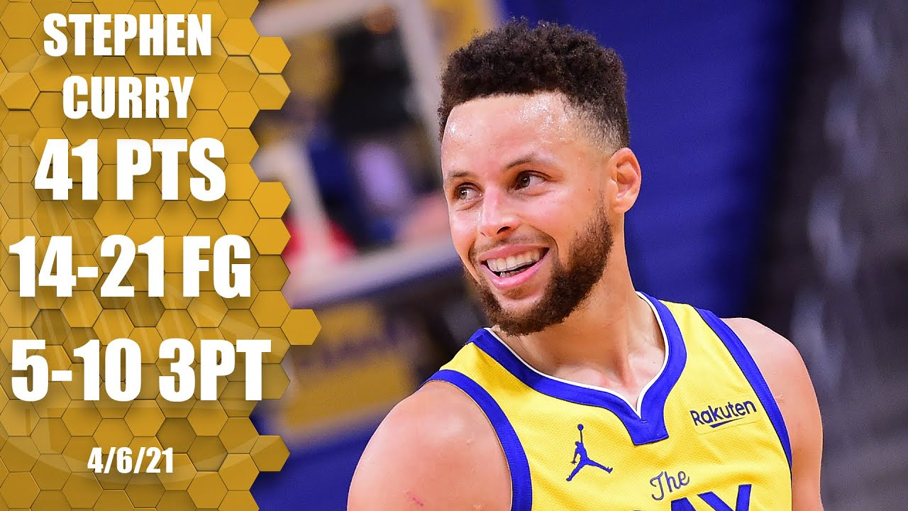 Stephen Curry erupts for 41 PTS in Warriors' much-needed win vs. Bucks