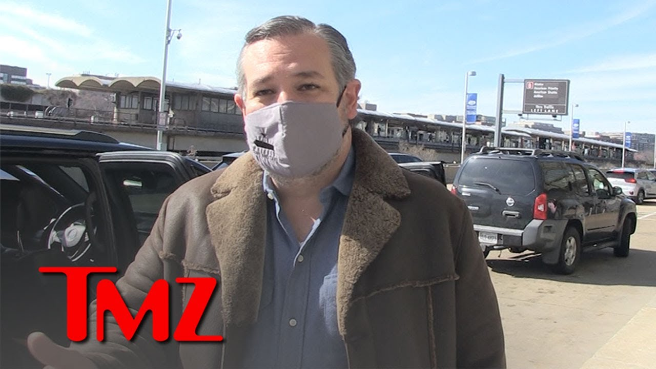 Ted Cruz Encouraged by Vaccine Rollout, Ready to Hoop at Crappy Senate Gym