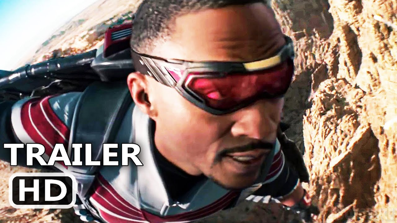 "THE FALCON AND THE WINTER SOLDIER ""Winter Soldier helps Falcon"" Trailer (New 2021) Marvel Series HD"