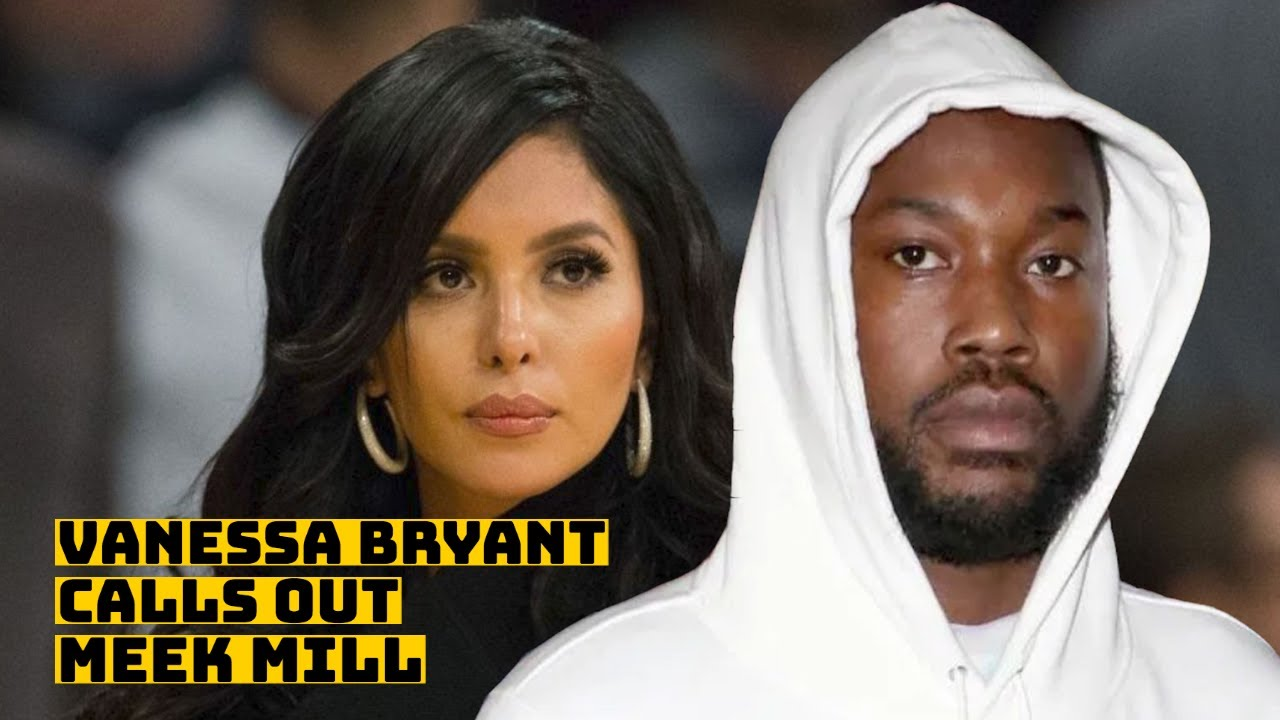 "Vanessa Bryant Calls Out Meek Mill For ""Insensitive And Disrespectful"" Kobe Lyrics"