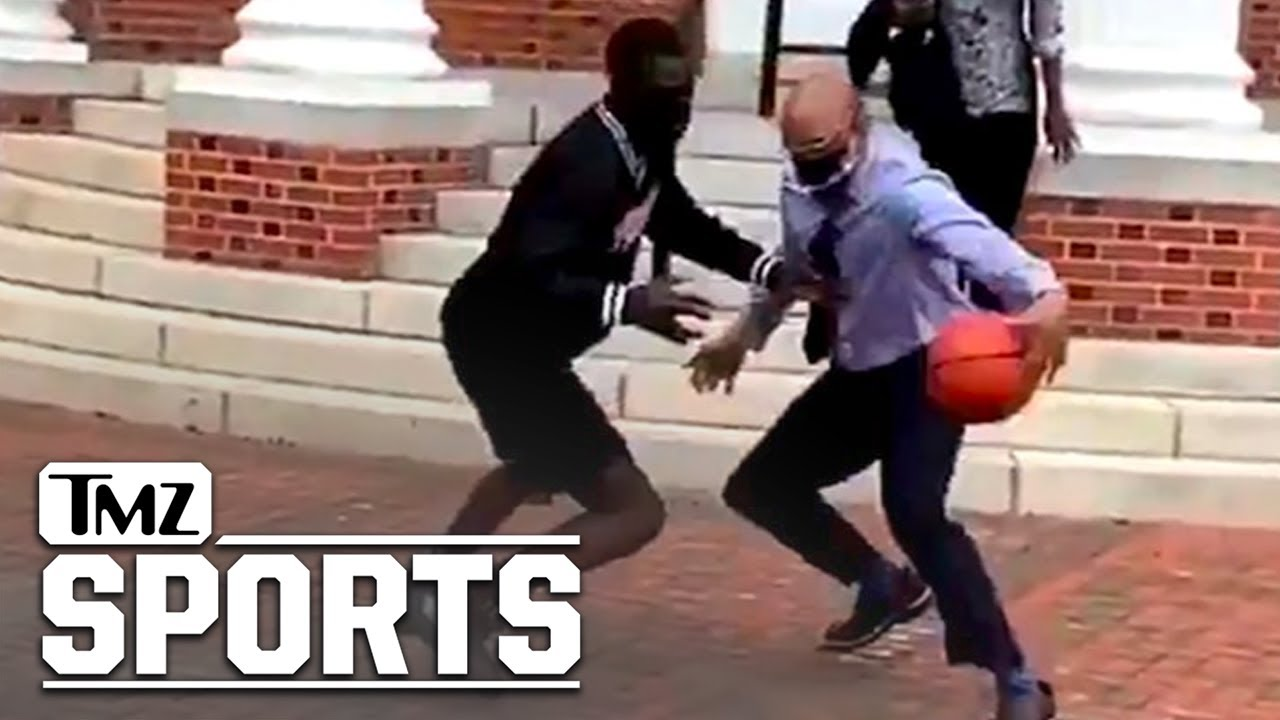 Virginia State University President Destroys 1-on-1 Opponent in Campus Showdown! | TMZ Sports