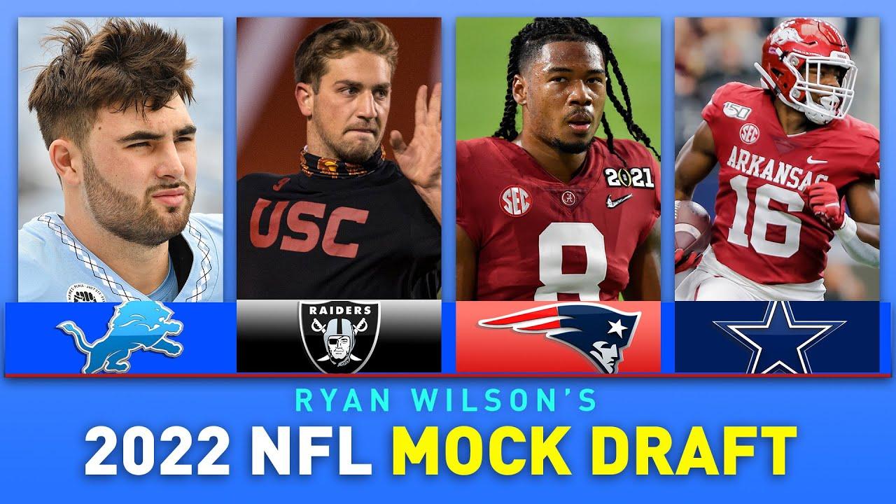 2022 FULL First Round NFL Mock Draft   CBS Sports HQ