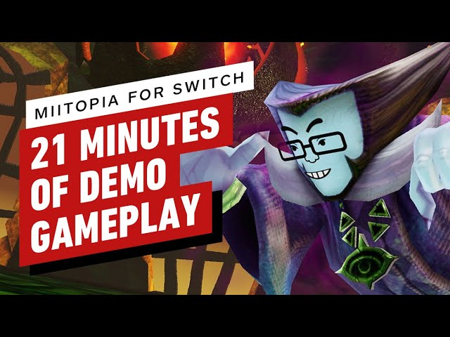 21 Minutes of Miitopia Nintendo Switch Demo Gameplay